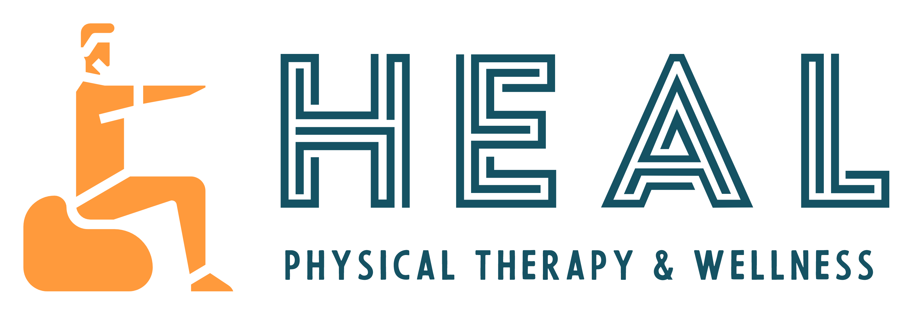Heal with PT logo